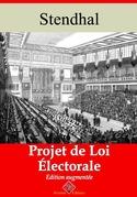 Projet de loi électorale | Edition intégrale et augmentée