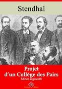 Projet d'un collège des pairs | Edition intégrale et augmentée