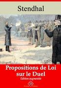 Propositions de loi sur le duel | Edition intégrale et augmentée
