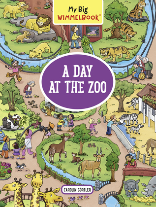My Big Wimmelbook—A Day at the Zoo