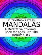 PuzzleBooks Press Mandalas - Volume 7