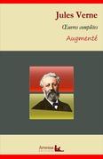 Jules Verne : Oeuvres complètes et annexes (annotées, illustrées)