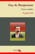 Guy de Maupassant : Oeuvres complètes et annexes (annotées, illustrées)