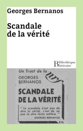 Scandale de la vérité
