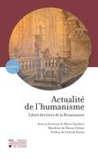 Actualité de l'humanisme
