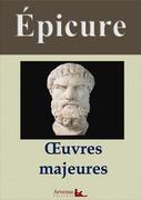 Épicure : Oeuvres et annexes (annotées, illustrées)
