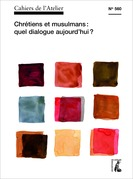 Cahiers de l'Atelier n° 560