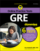 GRE For Dummies with Online Practice Tests