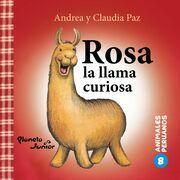 Rosa, la llama curiosa