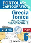 PORTOLANO CARTOGRAFICO 6. Grecia Ionica, Peloponneso sudoccidentale