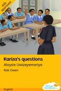 Kariza's Questions