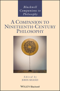 A Companion to Nineteenth-Century Philosophy