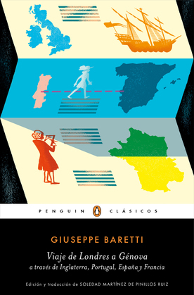 Viaje de Londres a Génova a través de Inglaterra, Portugal, España y Francia