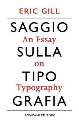 Saggio sulla tipografia