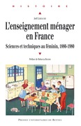 L'enseignement ménager en France