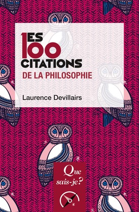 Les 100 citations de la philosophie
