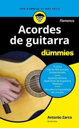 Acordes de guitarra flamenco para Dummies