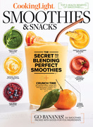 Cooking Light Smoothies & Snacks