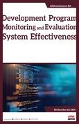 Development Program Monitoring and Evaluation System Effectiveness