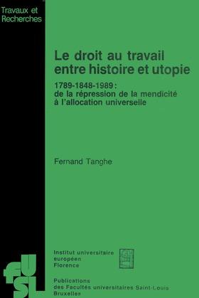 Le droit au travail entre histoire et utopie