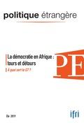 La démocratie en Afrique : tours et détours