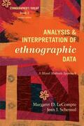 Analysis and Interpretation of Ethnographic Data: A Mixed Methods Approach