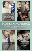 Modern Romance February Books 1-4: The Greek Claims His Shock Heir / The Venetian One-Night Baby / The Spaniard's Stolen Bride / The Sicilian's Bought Cinderella