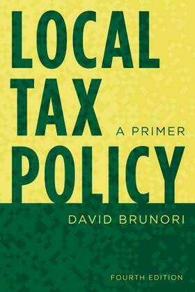 Local Tax Policy