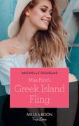 Miss Prim's Greek Island Fling (Mills & Boon True Love)