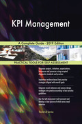 KPI Management A Complete Guide - 2019 Edition