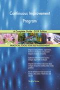 Continuous Improvement Program A Complete Guide - 2019 Edition
