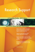 Research Support A Complete Guide - 2019 Edition