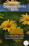 Esperanto Greka Biblio