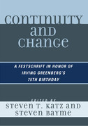 Continuity and Change: A Festschrift in Honor of Irving Greenberg's 75th Birthday
