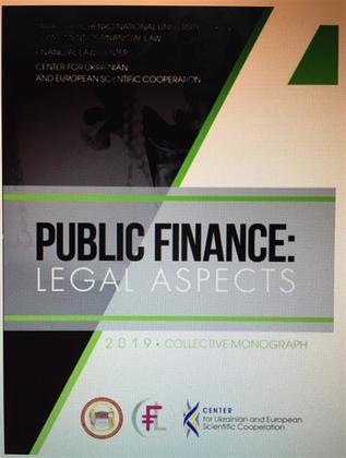 Public Finance: Legal Aspects