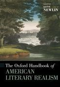 The Oxford Handbook of American Literary Realism