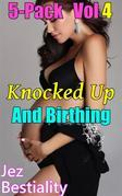 Knocked Up And Birthing 5-Pack Vol 4
