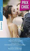 Mariés d'un jour - Un manoir en Cornouailles - Passion sicilienne