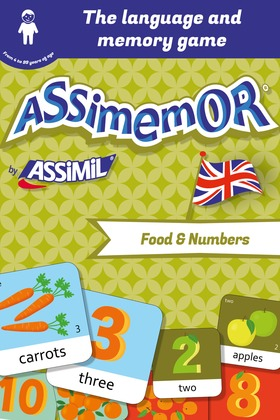 Assimemor – My First English Words: Food and Numbers