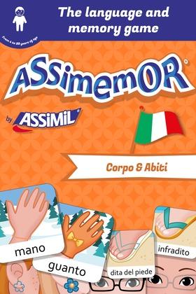 Assimemor – My First Italian Words: Corpo e Abiti
