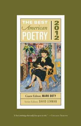 The Best American Poetry 2012: Series Editor David Lehman