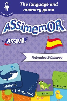 Assimemor – My First Spanish Words: Animales y Colores