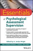 Essentials of Psychological Assessment Supervision