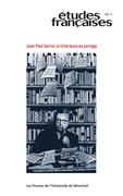 Études françaises. Vol. 49 No. 2,  2013