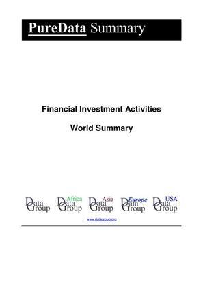 Financial Investment Activities World Summary
