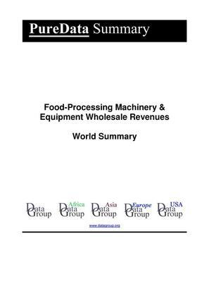 Food-Processing Machinery & Equipment Wholesale Revenues World Summary