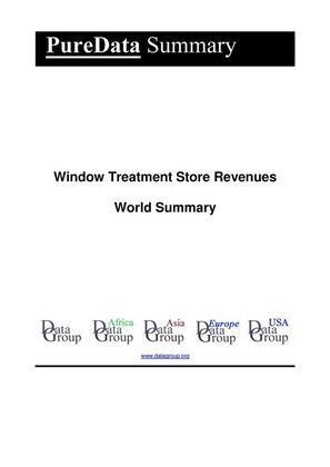 Window Treatment Store Revenues World Summary