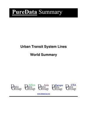 Urban Transit System Lines World Summary