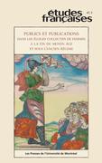 Études françaises. Vol. 47 No. 3,  2011