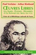 Œuvres  libres, Les Amies - Femmes - Hombres - Sonnet du trou du cul